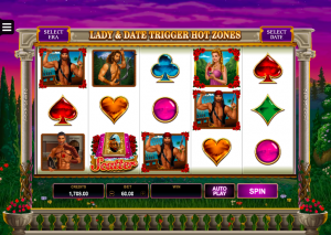 Dream Date slot game by Microgaming software developer