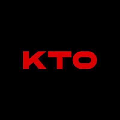 KTO Online Casino Logo Black