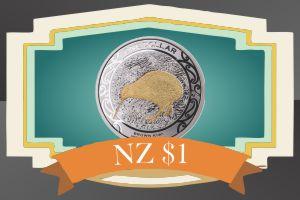 1 New Zealand Dollar