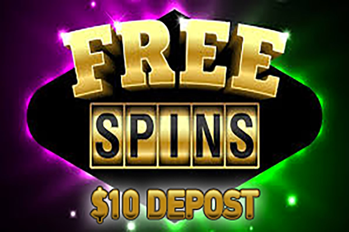 Free Spins you can get with $10