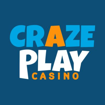 Craze Play Online casino Logo Blue