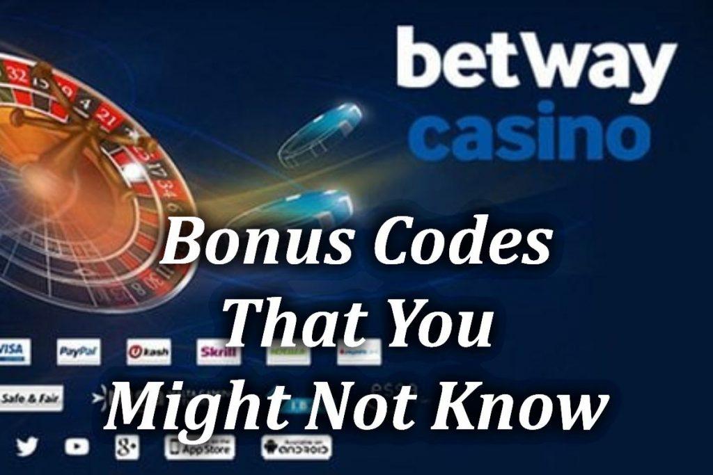 Betway Casino Code