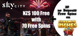 SkyCity Casino No Deposit Bonus