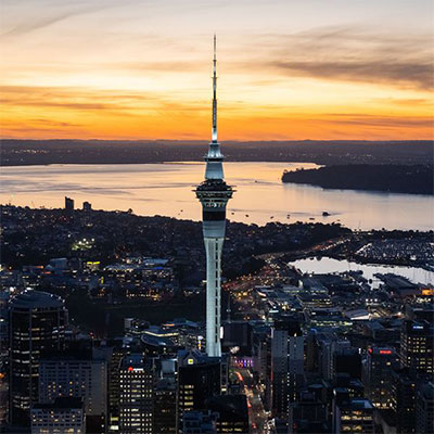 SkyCity Auckland tower