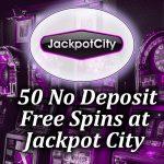 50 No Deposit Spins at Jackpot City article image