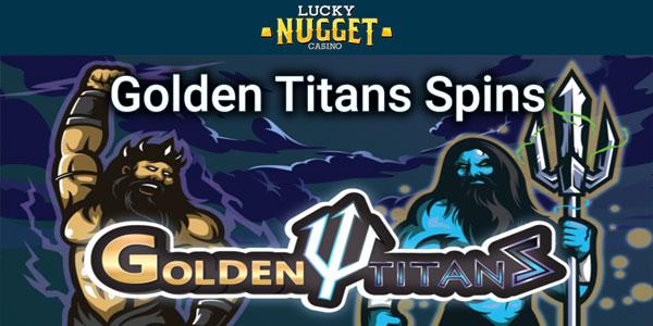 Golden Titans slot information slide