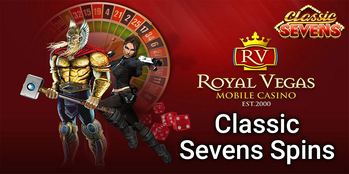 Classic Sevens slot information slide