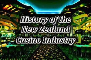 Image feature of NZ casino industry