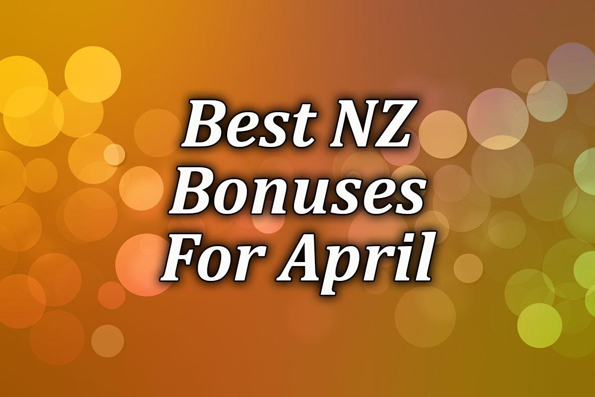 April's Best Online Casino Bonuses for April 2021