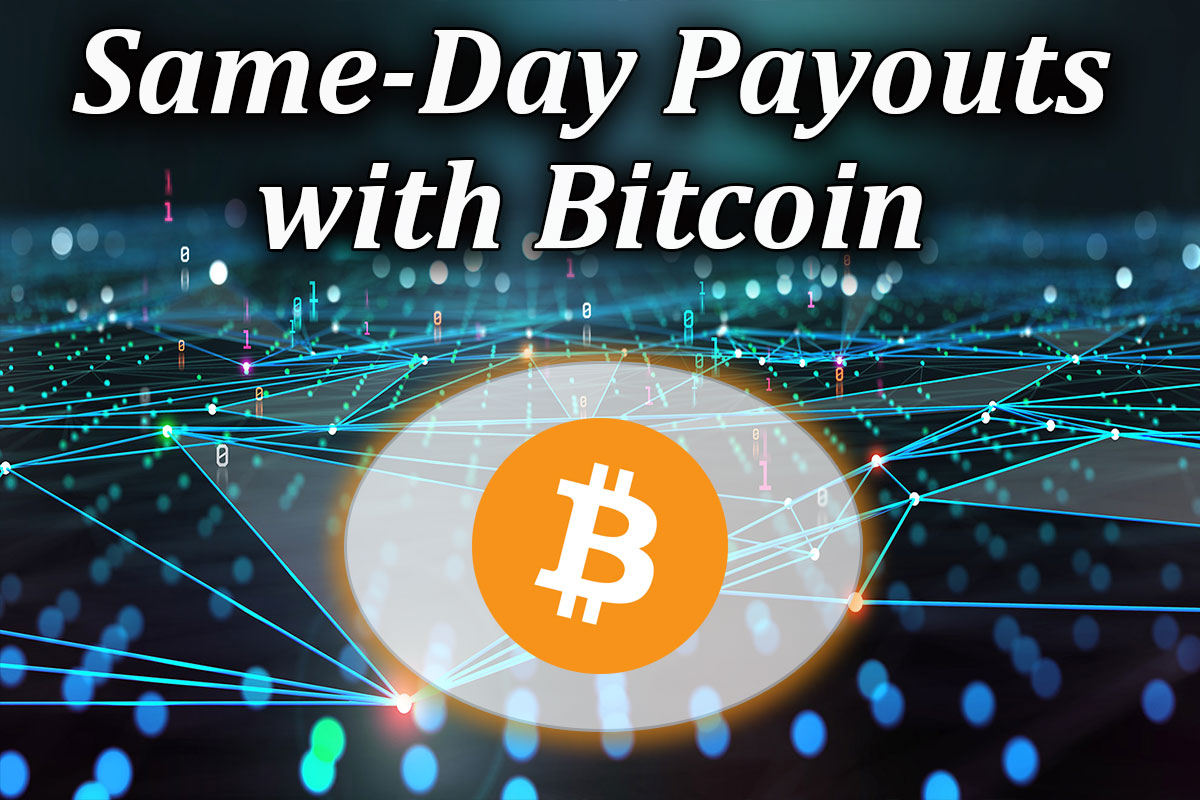 same day casino payouts using bitcoin