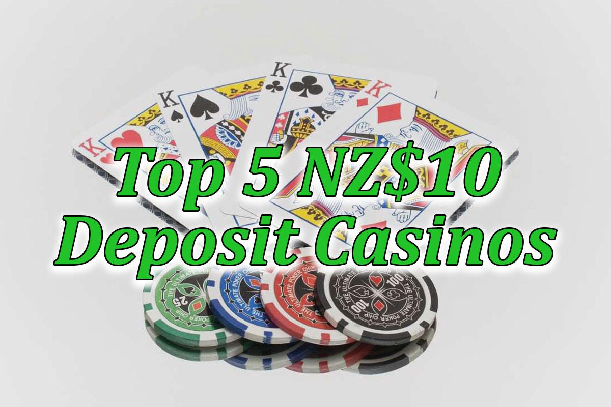 Top 5 $10 casinos