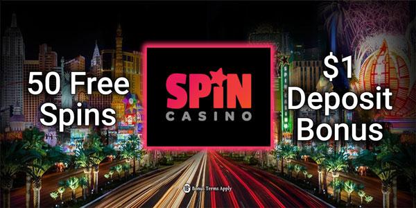 Spin Casino $1 Deposit