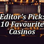 Editor's top 10 online casinos