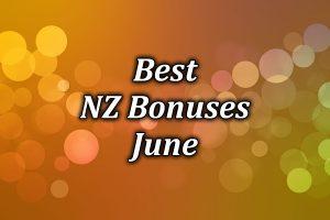 June's Best Online Casino Bonuses for June 2021