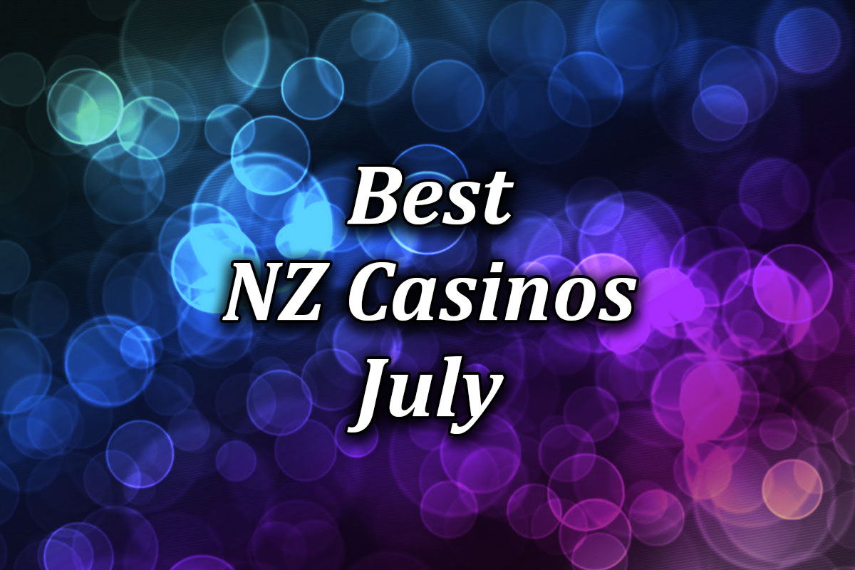 The best online casinos for NZ in July 2021
