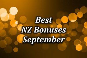 Best Casino Bonuses in New Zealand during September 2021