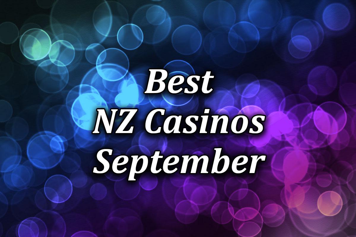 Best Online Casinos for September 2021