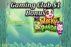 Gaming Club 1 dollar deposit bonus