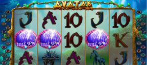 Avatar pokie game