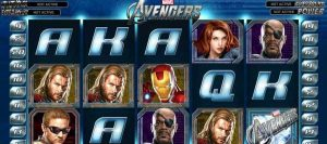 Avengers pokie game