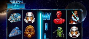 Star Wars pokie game