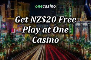 $20 No Deposit Bonus at One Casino